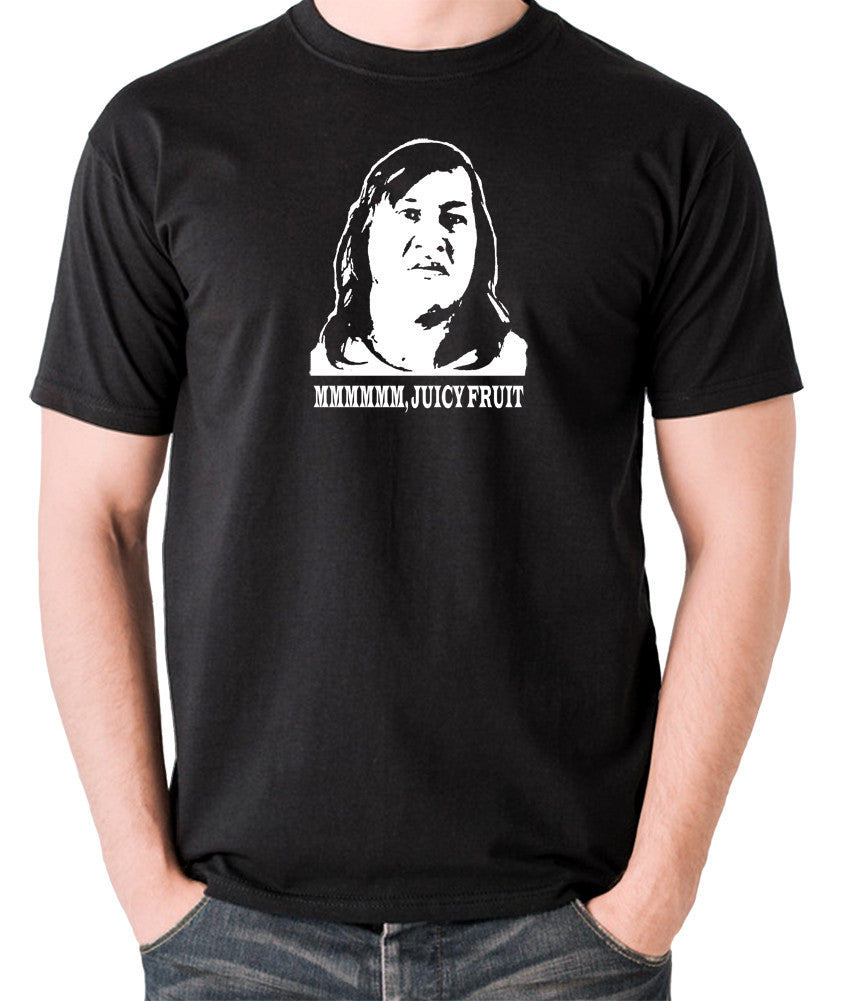 One Flew Over The Cuckoos Nest - Chief Broom, Mmmm Juicy Fruit - Men's T Shirt - black
