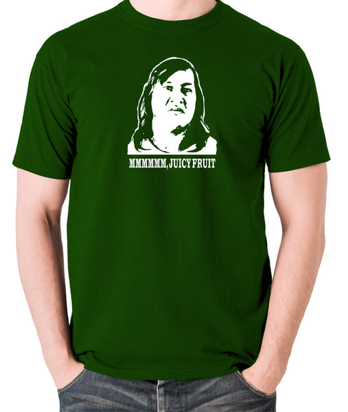 One Flew Over The Cuckoos Nest - Chief Broom, Mmmm Juicy Fruit - Men's T Shirt - green