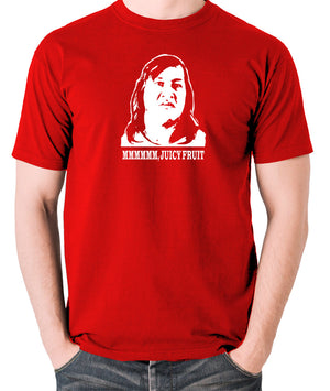 One Flew Over The Cuckoos Nest - Chief Broom, Mmmm Juicy Fruit - Men's T Shirt - red