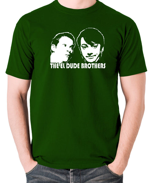 Peep Show - Mark and Jeremy, The El Dude Brothers - Men's T Shirt - green