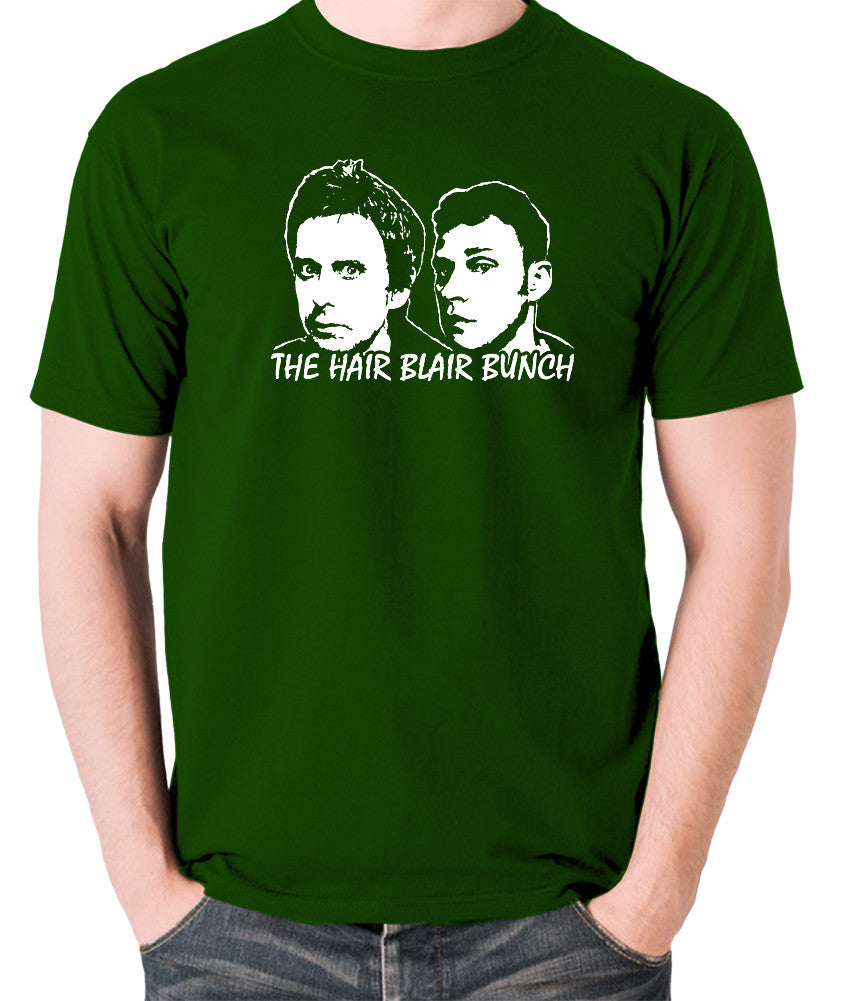Peep Show - Jeremy and Super Hans, The Hair Blair Bunch - Men's T Shirt - green