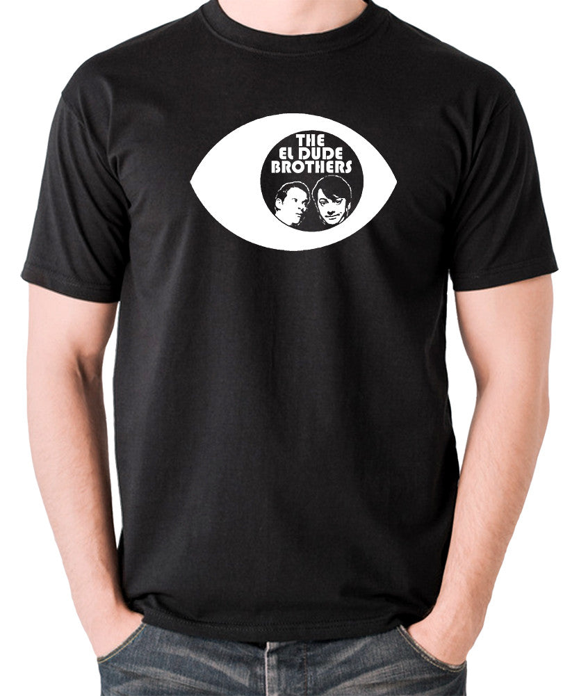 Peep Show - Eye, Mark and Jeremy, The El Dude Brothers - Men's T Shirt - black