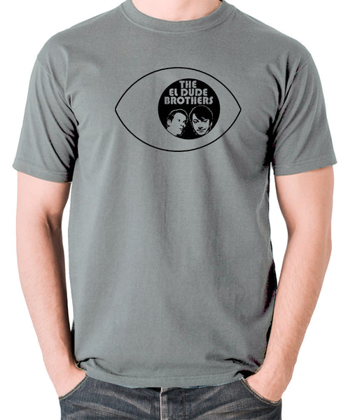 Peep Show - Eye, Mark and Jeremy, The El Dude Brothers - Men's T Shirt - grey