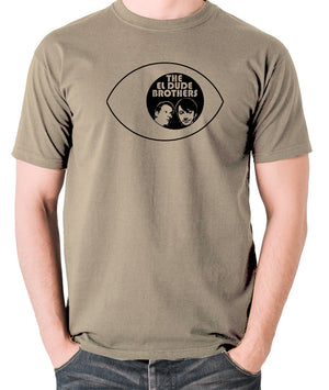 Peep Show - Eye, Mark and Jeremy, The El Dude Brothers - Men's T Shirt - khaki