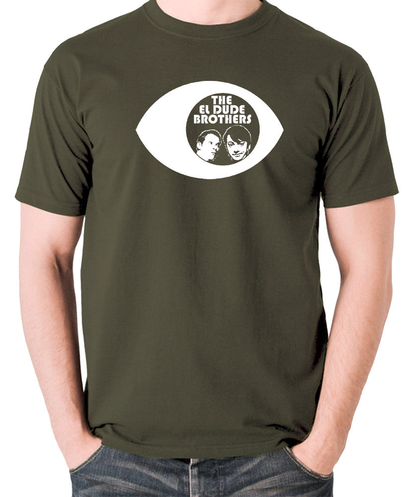 Peep Show - Eye, Mark and Jeremy, The El Dude Brothers - Men's T Shirt - olive