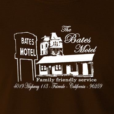 Psycho - The Bates Motel - Men's T Shirt