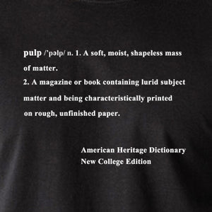 Pulp Fiction - Definition Of Pulp - Men's T Shirt