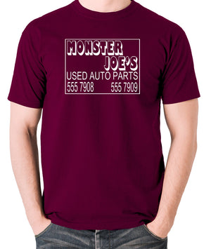 Pulp Fiction - Monster Joe's Truck N Tow - Men's T Shirt - burgundy