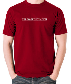 Pulp Fiction - The Bonnie Situation - Men's T Shirt - brick red