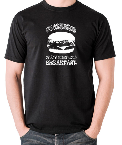 Pulp Fiction - Cornerstone of Any Nutritious Breakfast - Men's T Shirt - black
