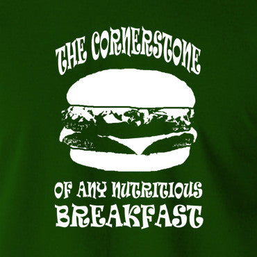 Pulp Fiction - Cornerstone of Any Nutritious Breakfast - Men's T Shirt
