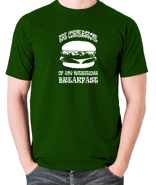 Pulp Fiction - Cornerstone of Any Nutritious Breakfast - Men's T Shirt - green