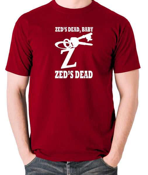 Pulp Fiction - Zed's Dead Baby - Men's T Shirt - brick red