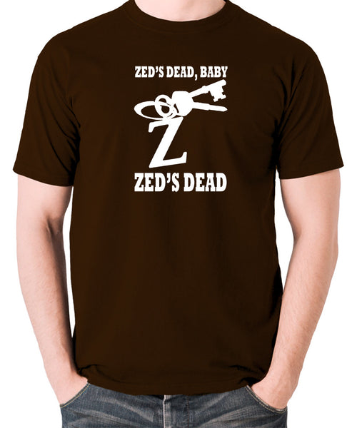 Pulp Fiction - Zed's Dead Baby - Men's T Shirt - chocolate