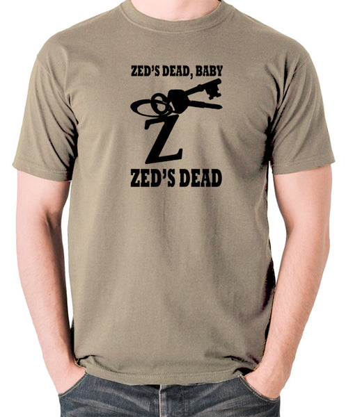 Pulp Fiction - Zed's Dead Baby - Men's T Shirt - khaki