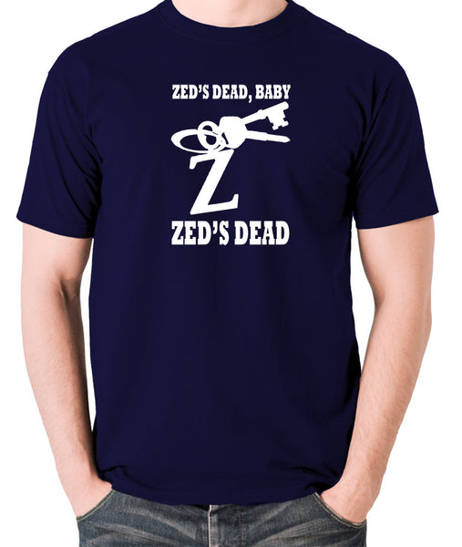 Pulp Fiction - Zed's Dead Baby - Men's T Shirt - navy