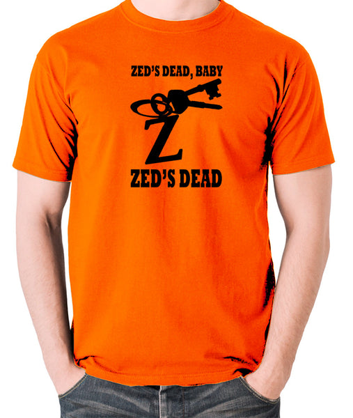 Pulp Fiction - Zed's Dead Baby - Men's T Shirt - orange