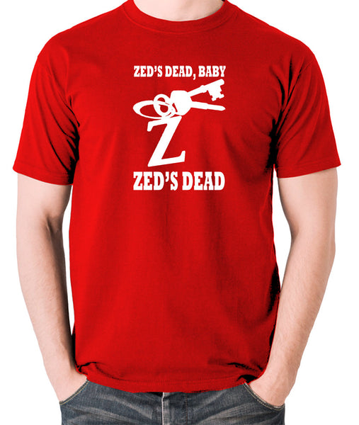 Pulp Fiction - Zed's Dead Baby - Men's T Shirt - red