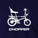 Raleigh Chopper - 1970's Classic Bicycle - Men's T Shirt