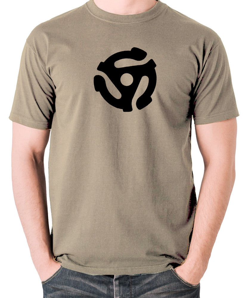 Record Player - Adapter - Men's T Shirt - khaki
