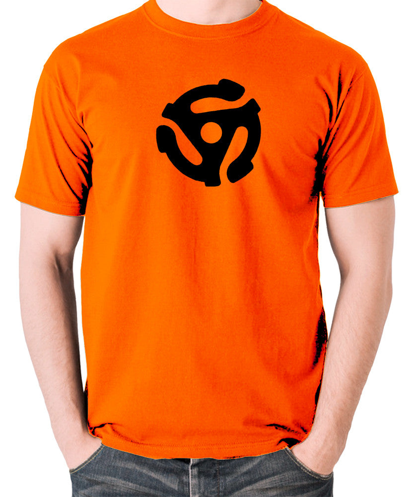 Record Player - Adapter - Men's T Shirt - orange
