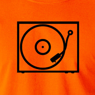 Record Player - Turntable - 1970's Classic - Men's T Shirt