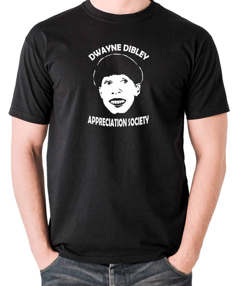 Red Dwarf - Cat, Dwayne Dibley Appreciation Society - Men's T Shirt - black
