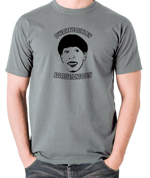 Red Dwarf - Cat, Dwayne Dibley Appreciation Society - Men's T Shirt - grey