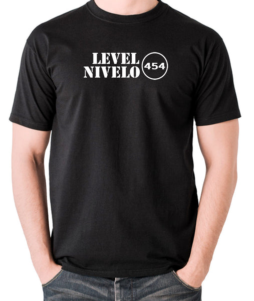 Red Dwarf - Level Nivelo 454 - Men's T Shirt - black