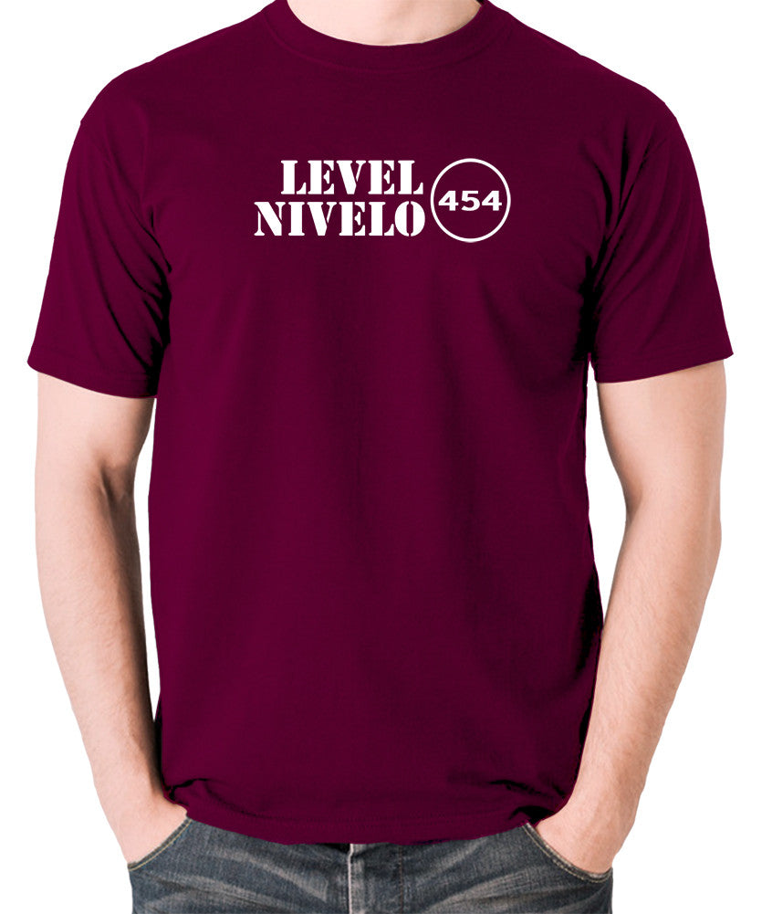 Red Dwarf - Level Nivelo 454 - Men's T Shirt - burgundy