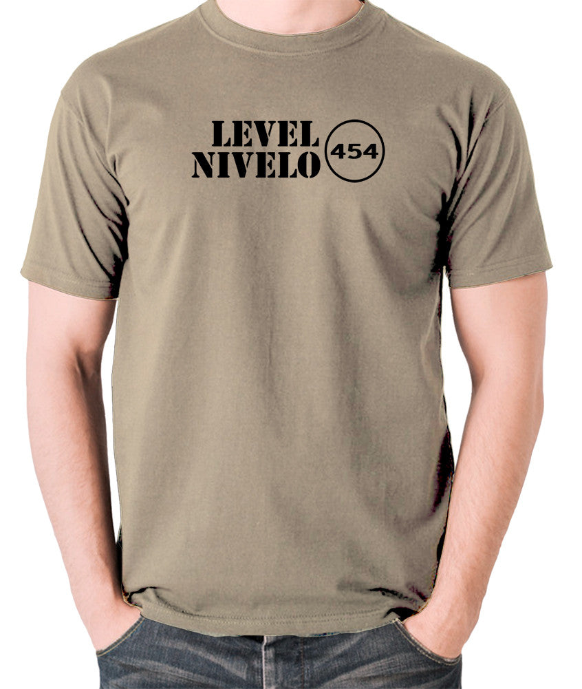 Red Dwarf - Level Nivelo 454 - Men's T Shirt - khaki
