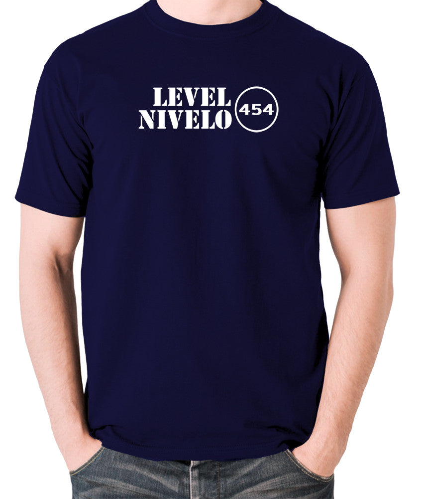 Red Dwarf - Level Nivelo 454 - Men's T Shirt - navy