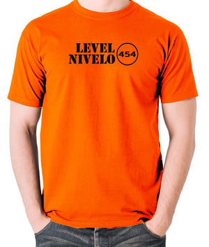 Red Dwarf - Level Nivelo 454 - Men's T Shirt - orange