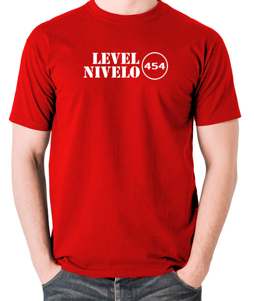 Red Dwarf - Level Nivelo 454 - Men's T Shirt - red