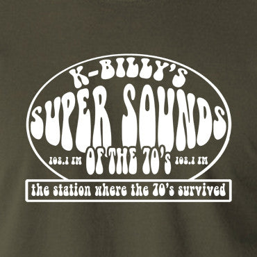 Reservoir Dogs K Billy's Super Sounds Of The Seventies T Shirt