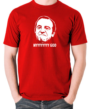 Rising Damp - Rupert Rigsby, Myyyyyyy God - Men's T Shirt - red
