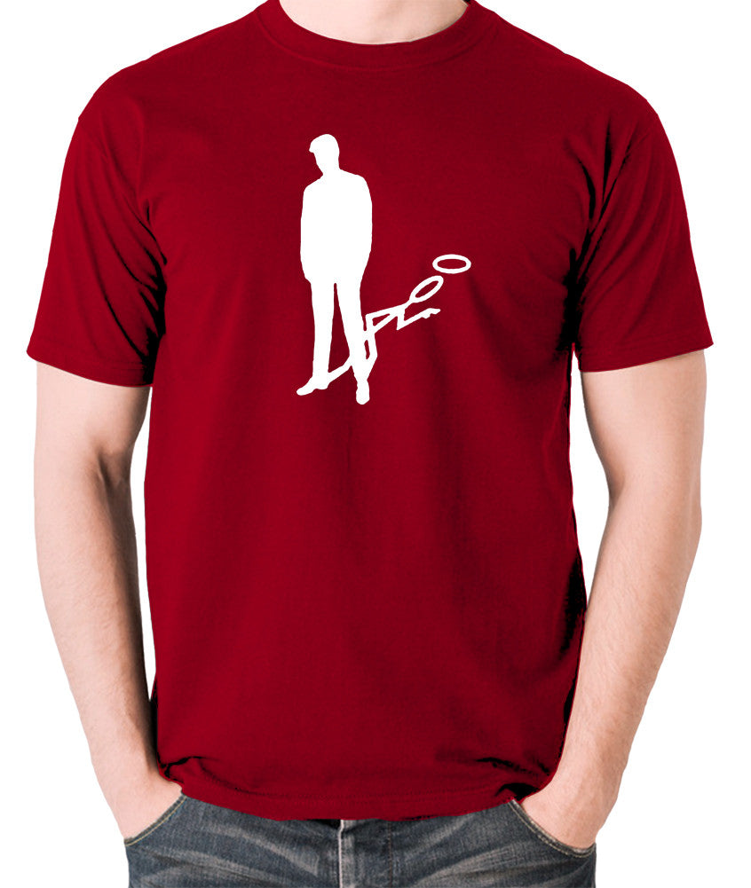 The Saint - Silhouette - Men's T Shirt - brick red