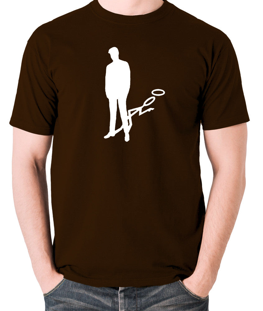 The Saint - Silhouette - Men's T Shirt - chocolate