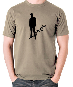 The Saint - Silhouette - Men's T Shirt - khaki