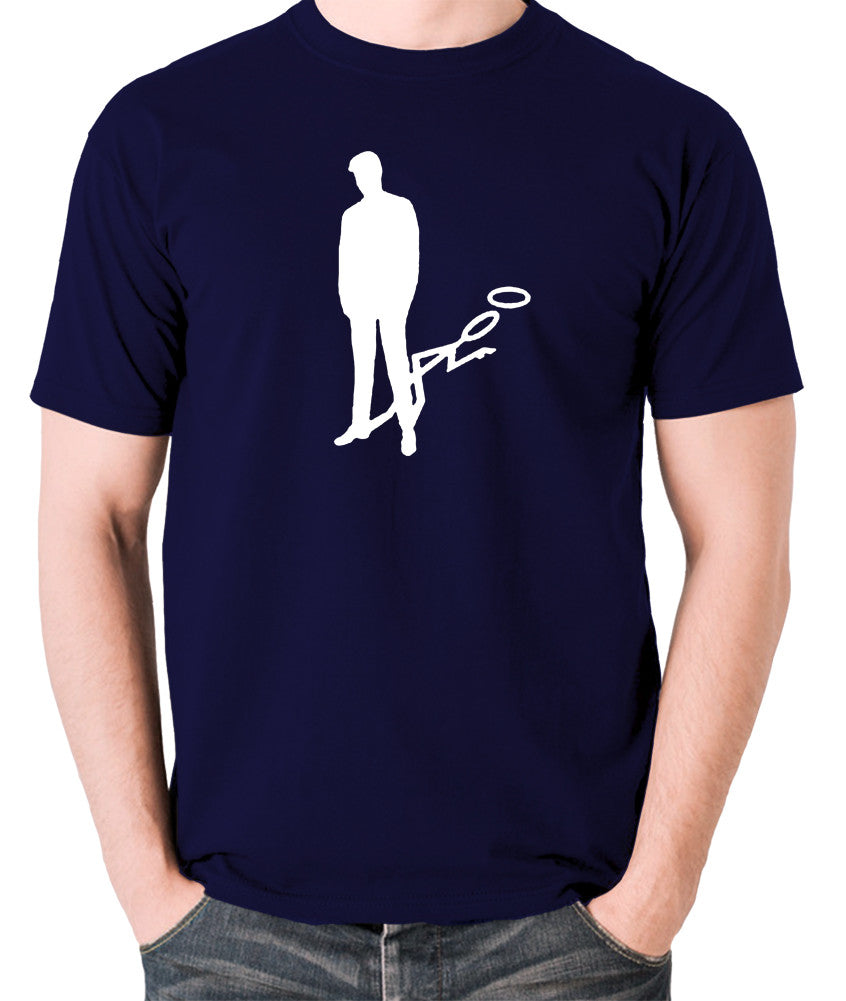 The Saint - Silhouette - Men's T Shirt - navy