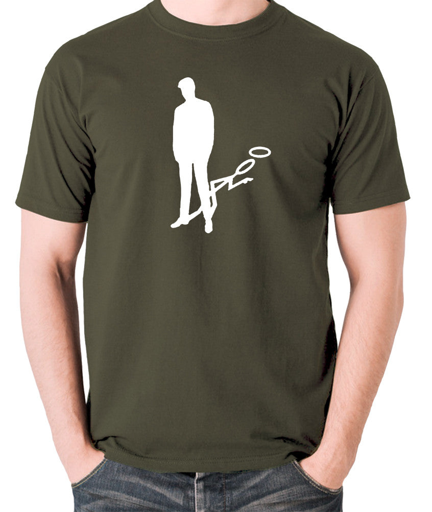 The Saint - Silhouette - Men's T Shirt - olive