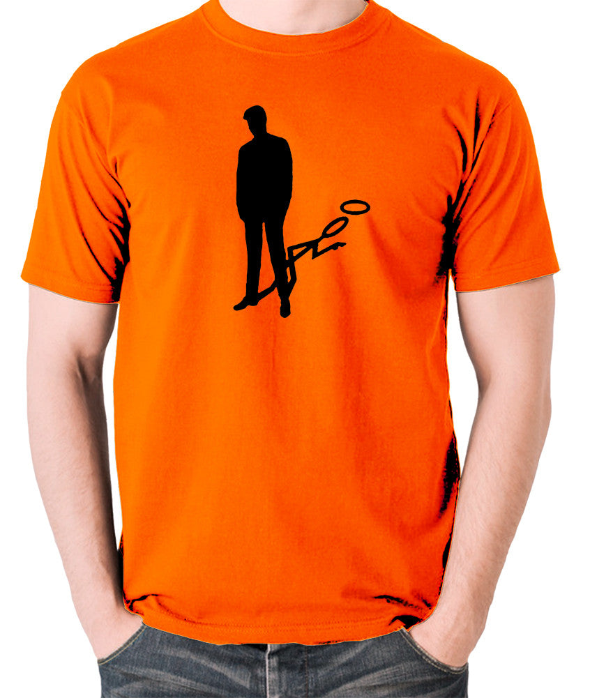 The Saint - Silhouette - Men's T Shirt - orange