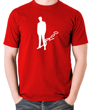 The Saint - Silhouette - Men's T Shirt - red