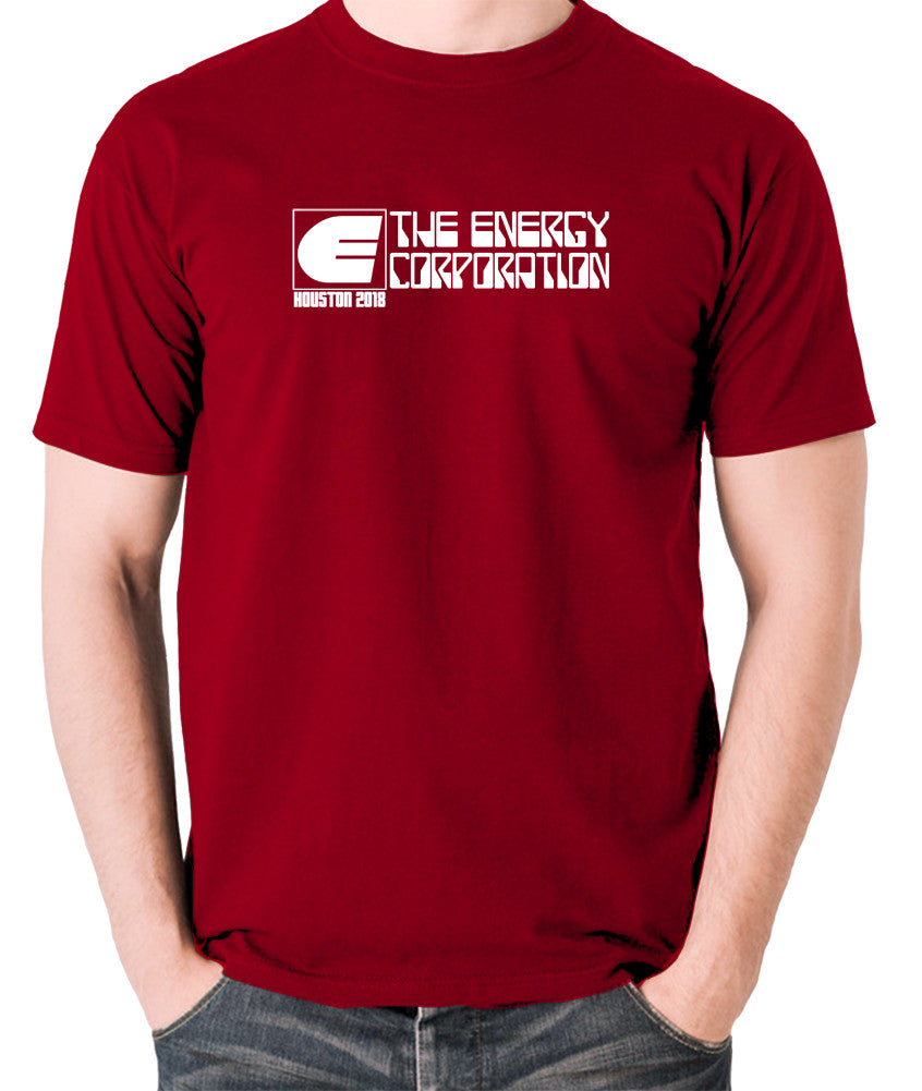 Rollerball - The Energy Corporation - Men's T Shirt - brick red
