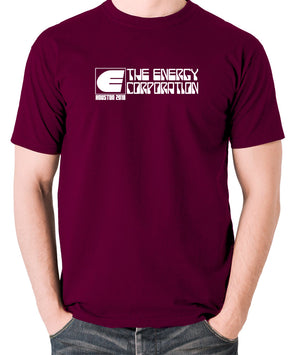 Rollerball - The Energy Corporation - Men's T Shirt - burgundy