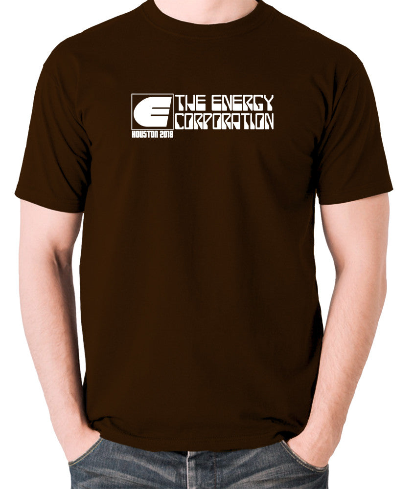 Rollerball - The Energy Corporation - Men's T Shirt - chocolate