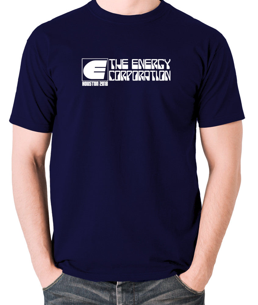 Rollerball - The Energy Corporation - Men's T Shirt - navy