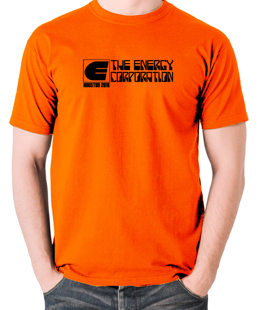 Rollerball - The Energy Corporation - Men's T Shirt - orange