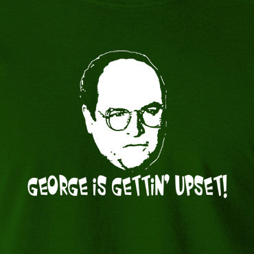 Seinfeld - George Costanza, George Is Gettin' Upset - Men's T Shirt