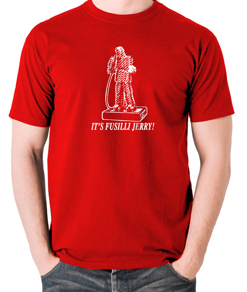 Seinfeld - It's Fusilli Jerry - Men's T Shirt - red